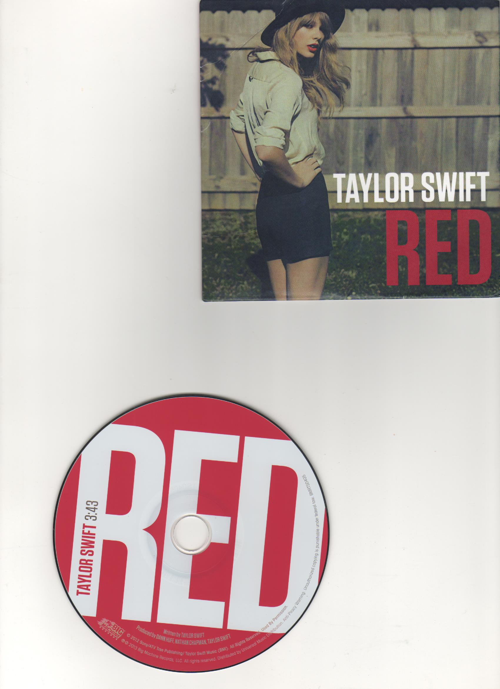 RED CD single