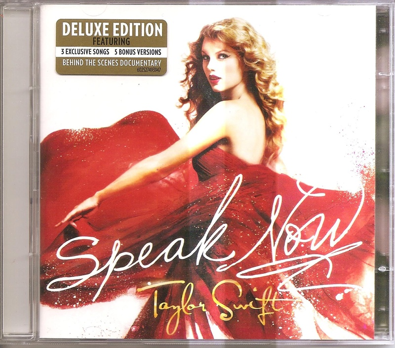 UK Deluxe Edition Front Cover with sticker - Taylor Swift ...